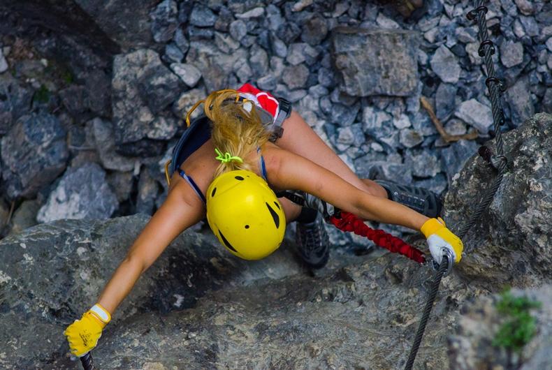 Via ferrata, hegymászás 100% biztonságban