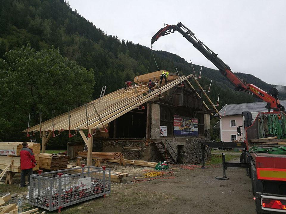 rafting.hu bázis építés rafting ausztria 2
